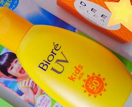 KAO BIORE UV SUNSCREEN MILK FOR KIDS 90G SPF50+PA++++ ОТЗЫВ.