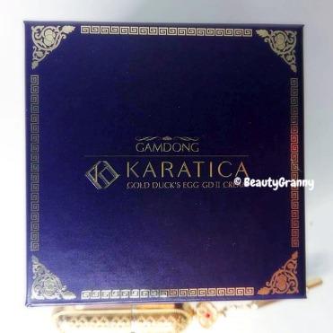 Karatica Gold Duck's EGG GDⅡ Cream отзыв