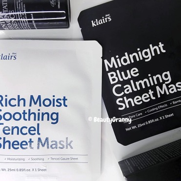 Klairs Rich Moist Soothing Tencel и Midn