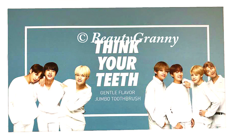 VT с BTS Think Your Teeth Jumbo Kit отзы