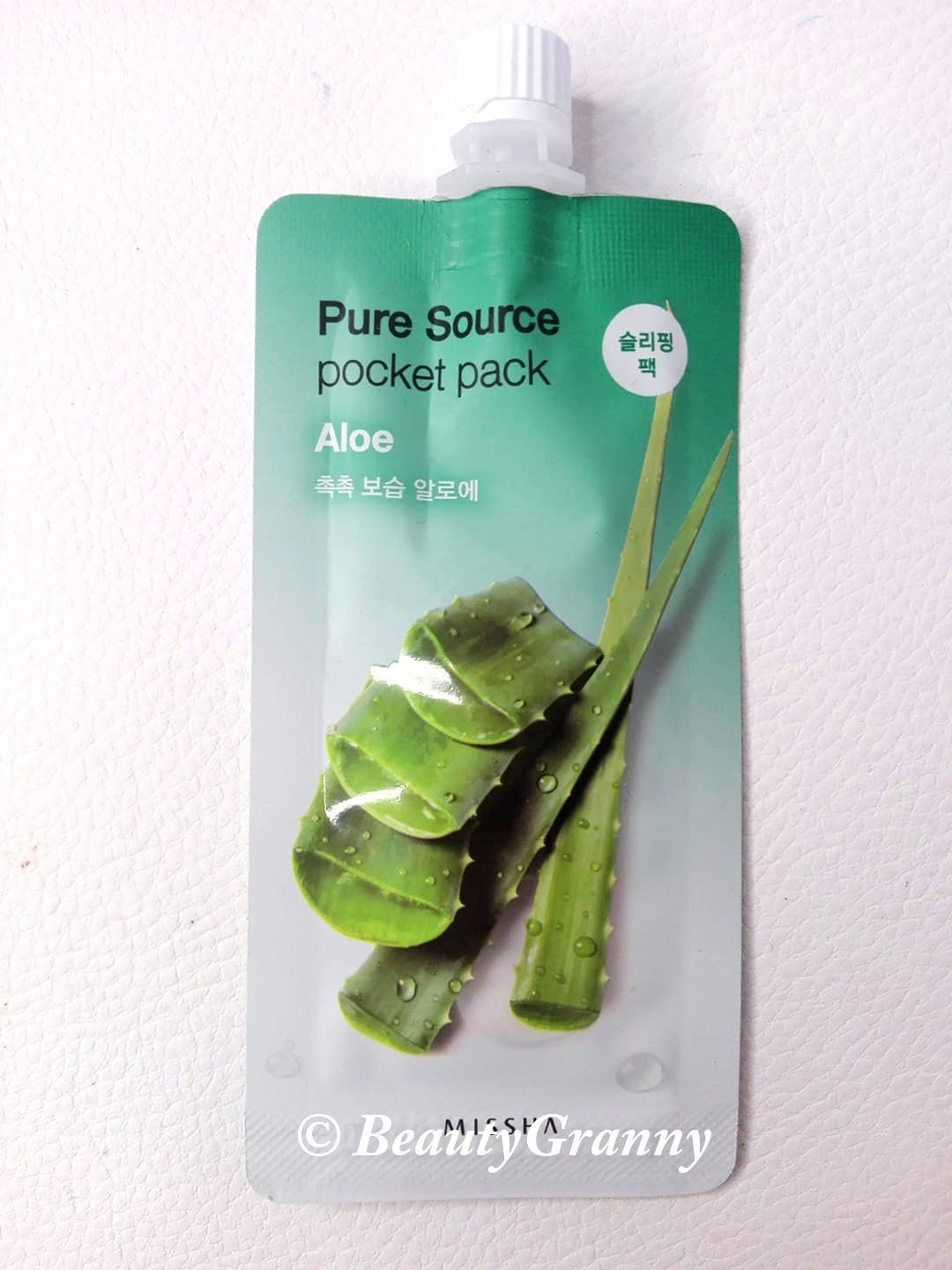 MISSHA Pure Source Pocket Pack отзыв
