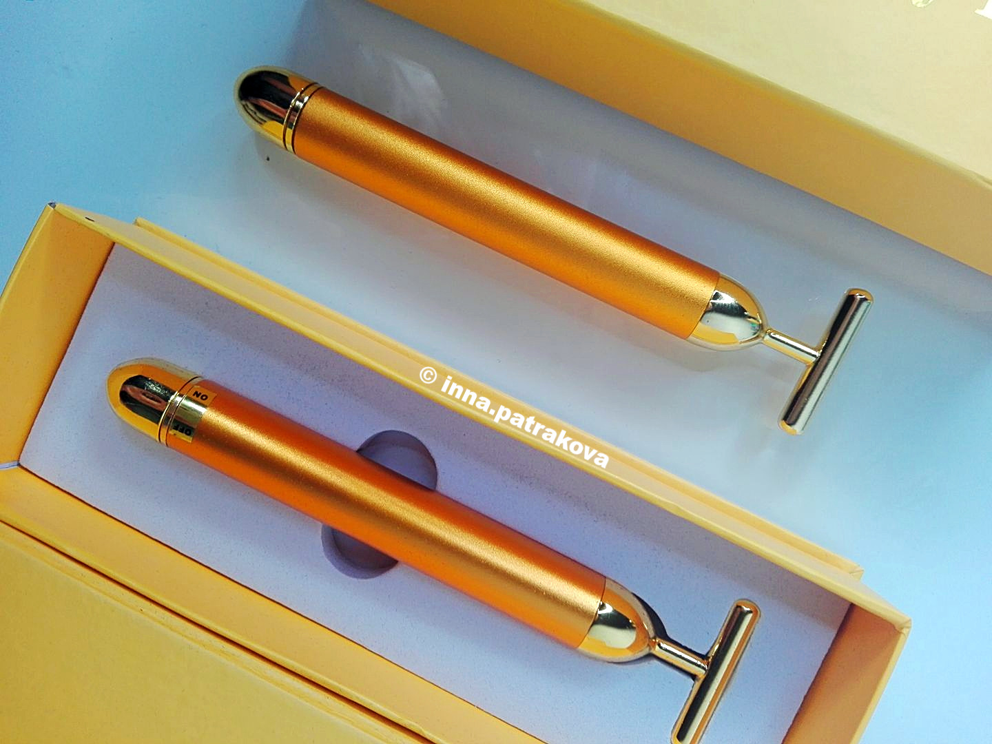 24K Golden Eye Massager