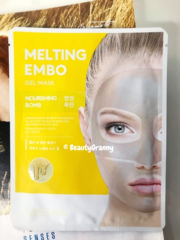 MISSHA Melting Embo Gel Mask Nourishing