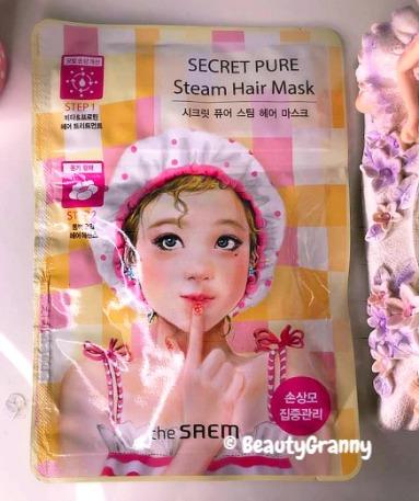 The SAEM Secret Pure Steam Hair Mask отз