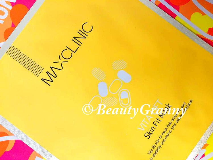 Maxclinic Vita Lift Skin Fit Mask отзыв.