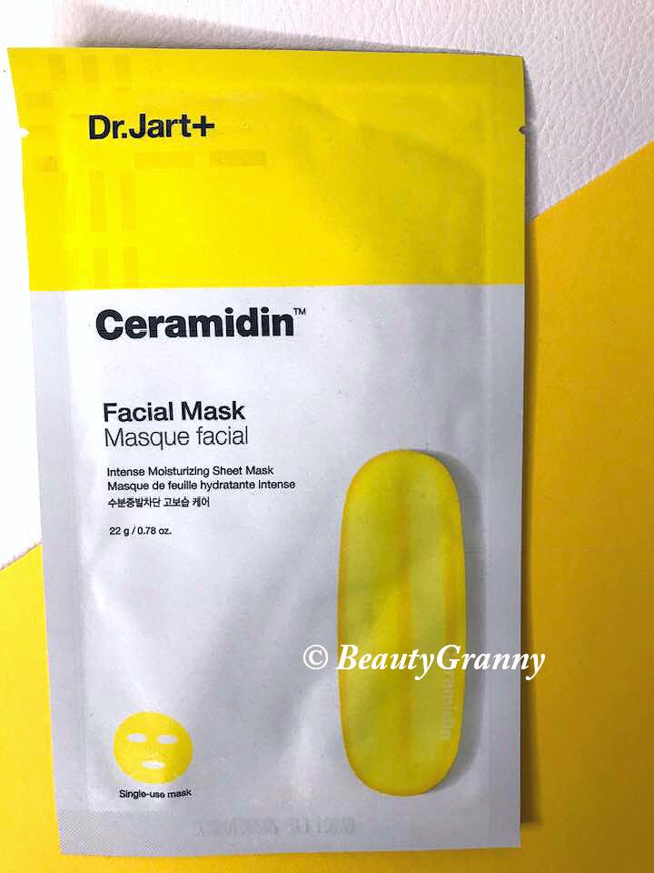 Dr.Jart+ Ceramidin Facial Mask отзыв.