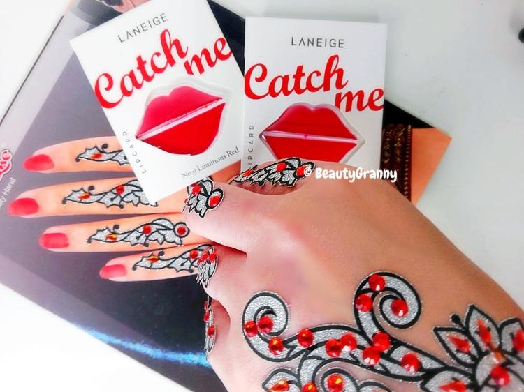 Laneige Lip Card отзыв