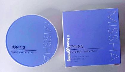 MISSHA All-around Safe Block Toning Sun Tension SPF50+_PA++++ отзыв