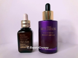 MISSHA Time Revolution Night Repair vs E
