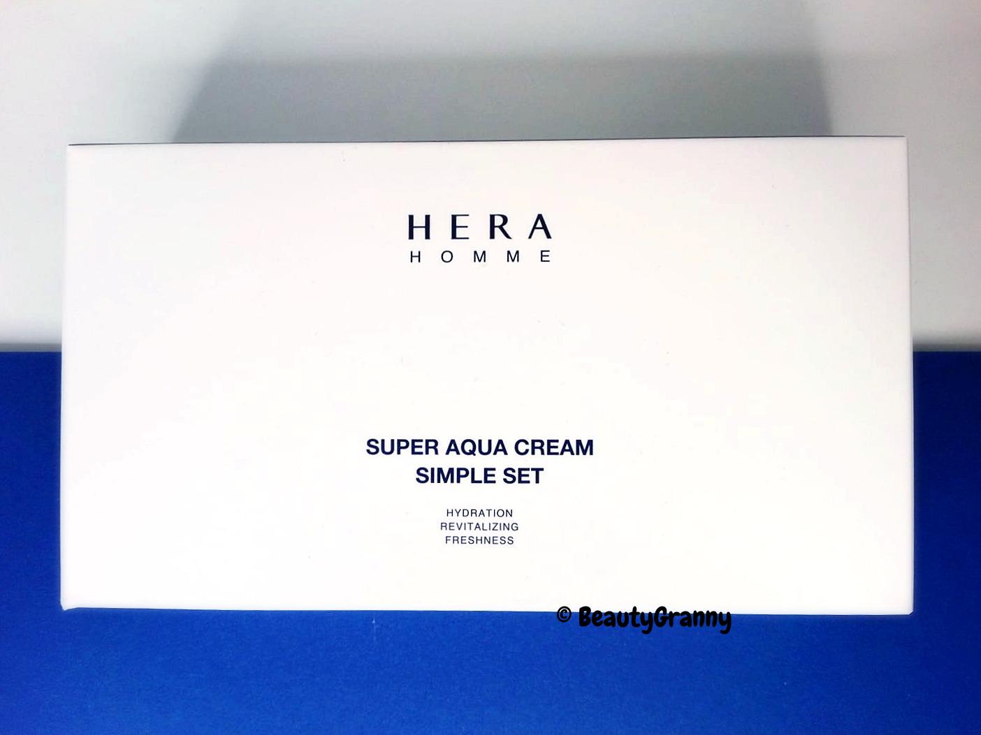 HERA Homme Super Aqua отзыв