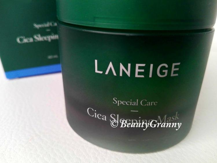 Laneige - Cica Sleeping Mask отзыв