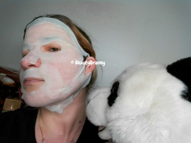 SNP Red Tension Calming Lifting Mask отз