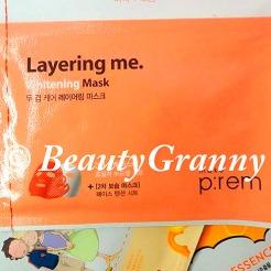 MAKE P:REM Layering Me Mask отзыв