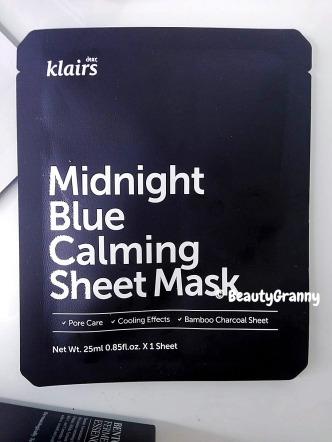 Klairs Rich Moist Soothing Tencel и Midnight Blue Calming Mask отзыв