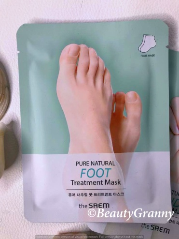The SAEM Pure Natural Hand Treatment Mas