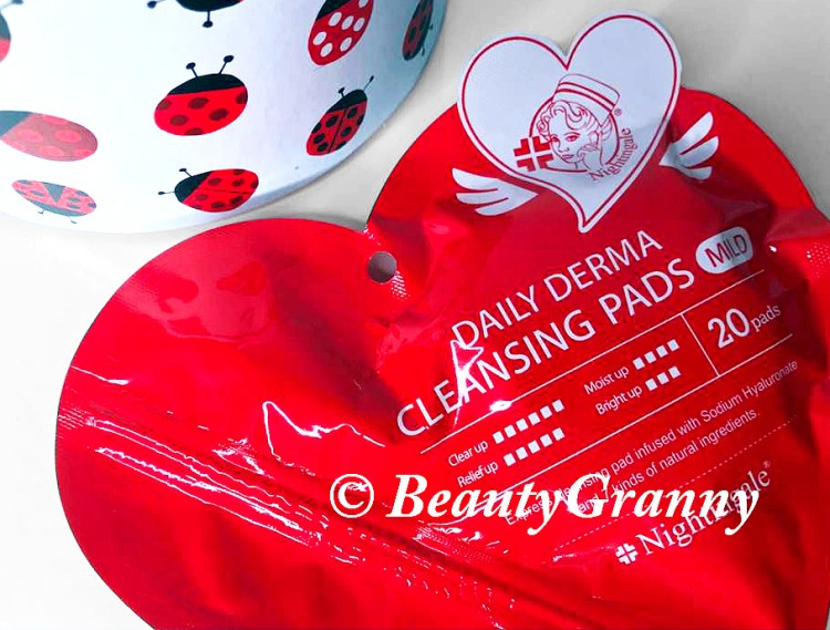 Nightingale Daily Derma Cleansing Pads нужное