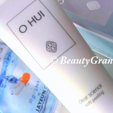 OHUI Clear Science Soft Peeling отзыв
