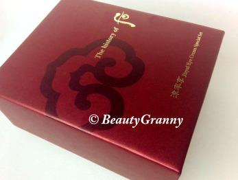 The History of Whoo Jinyul Eye Cream отз