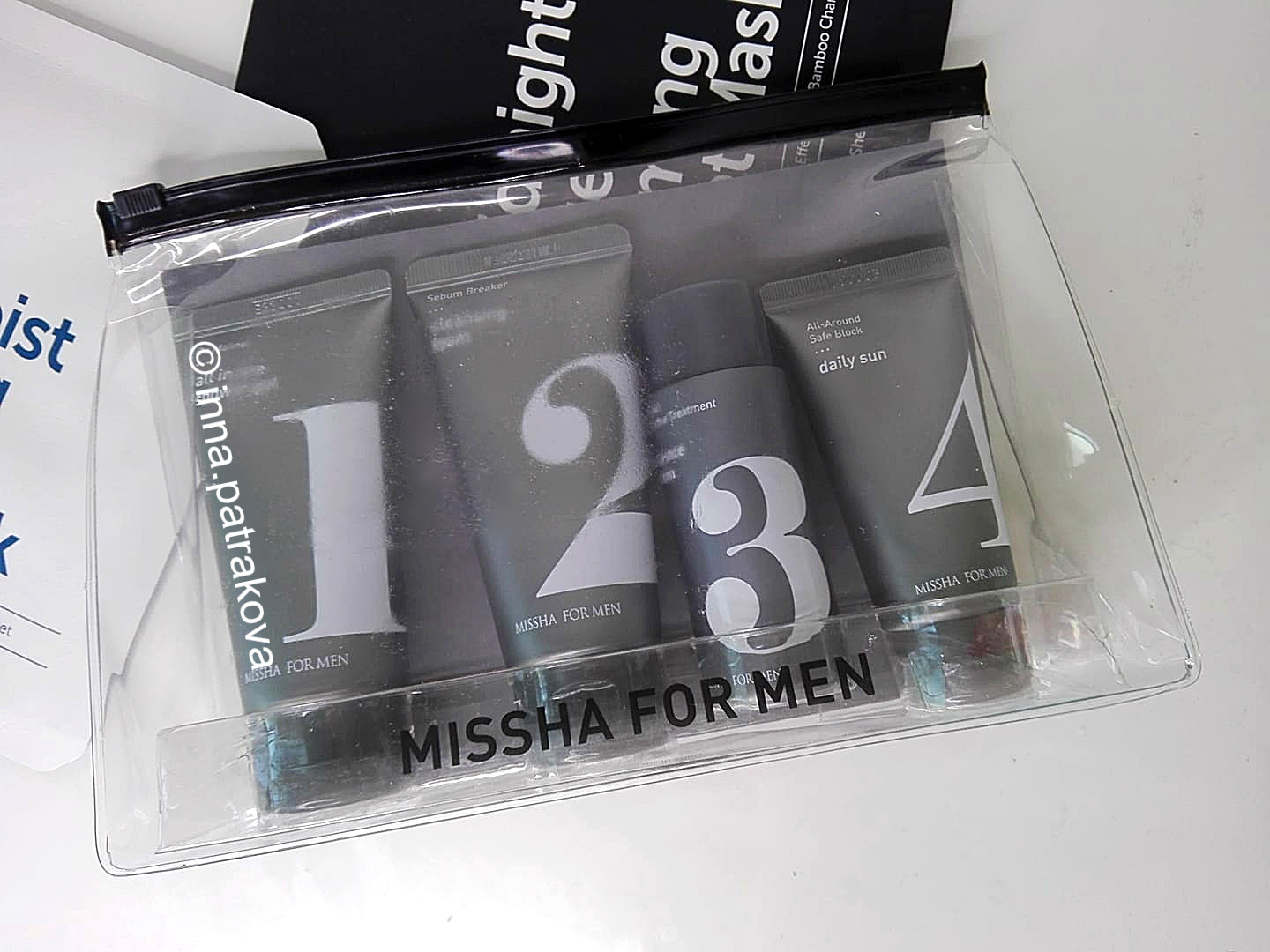Missha For Men Travel Kit