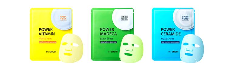 THE SAEM Power Madeca Mask Sheet нужные