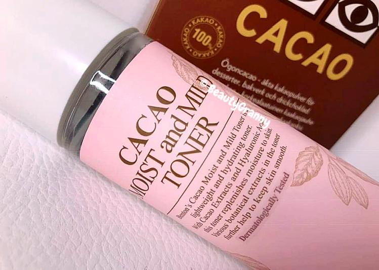 BENTON Cacao Moist and Mild Toner отзыв.