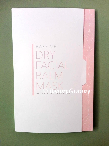 BARE ME Dry Sheet Face Mask, SKIN ZEN и