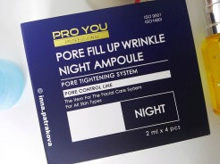 Pro You Pore Fill up Wrinkle Night Ampoule
