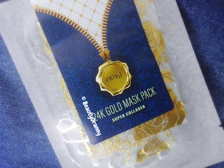No_hj 24k Gold Mask Pack Super Collagen