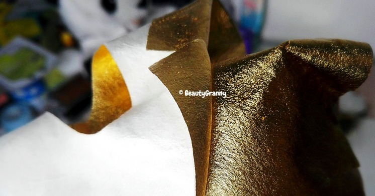 JAYJUN Gold Snow Black mask отзыв