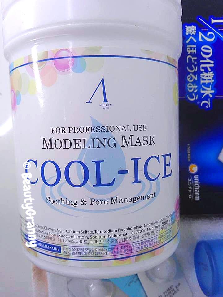 ANSKIN COOL-ICE Modeling Mask