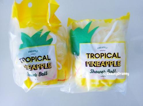 ETUDE HOUSE Tropical Pineapple Shower Ba