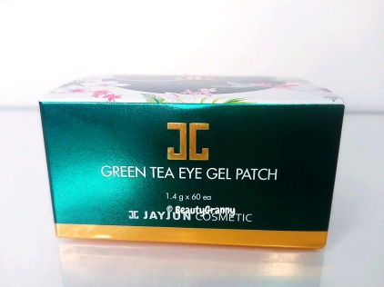 JAYJUN Green Tea Eye Gel Patch отзыв