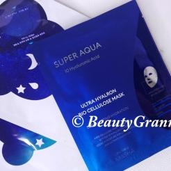 MISSHA Super Aqua Ultra Hyalron Bio Cellulose Mask отзыв. Новинка от Missha.
