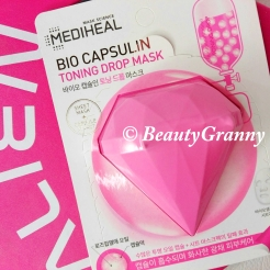 Корейская косметика. MEDIHEAL Bio Capsulin Toning Drop Mask отзыв.